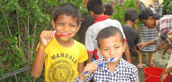 Children WASH Camp
