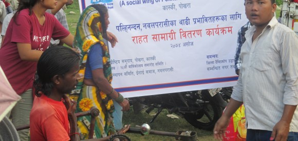 Relief Support For Nawalparasi Flood Survivors