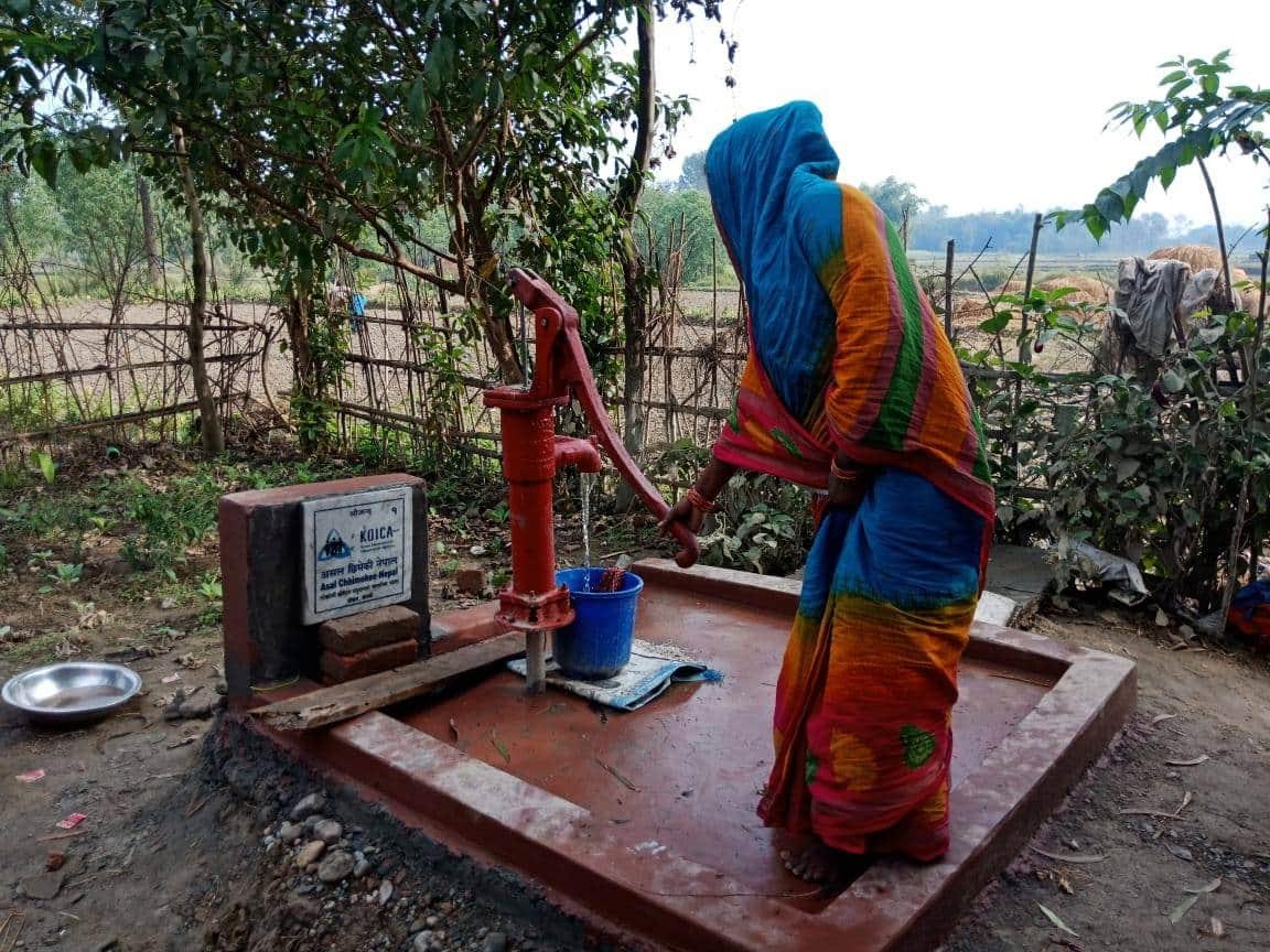 Rajpati Devi Mahato _ Rautaht flood recovery support story photo